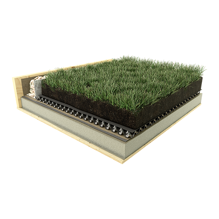 Semi-Intensive Green Roof Systems